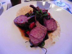 Lammkarree mit mediterranen Gemüsen Steak, Food, Food Food, Eten, Steaks, Meals, Beef, Diet