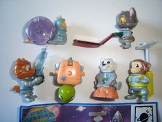 Kinder Surprise Set Space Mission Animals Poland 2012 Figures Collectibles | eBay