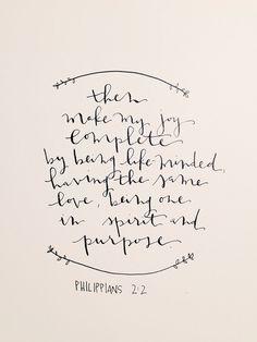 Philippians 2:2