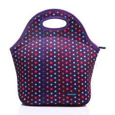 Cosfash Neoprene Lunch Tote Insulated Reusable Picnic Lunch Bags Boxes for Men Women Adults Kids Toddler Nurses