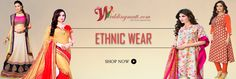 latest Ethnic wear collection on new year. big sale is going on, upto 70% off only on Weddingmatt.