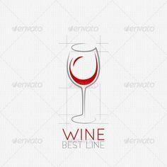 Wine Glass Design Background