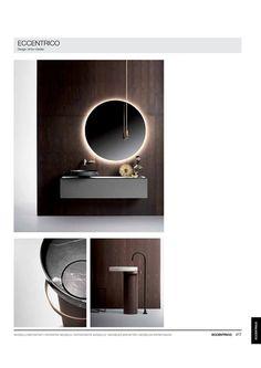 Countertop Basin, Marble Countertops, Washbasin Design, Square Sink, Carrara Marble, Bath Design, Round Mirrors, Bathroom Inspiration, Metal