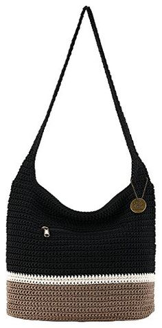 The Sak Riveria Colorblock Hobo Handbag - Black multi