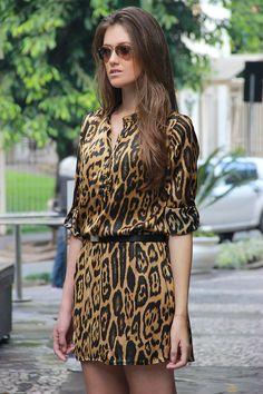 look, animal print, leopard print, vestido
