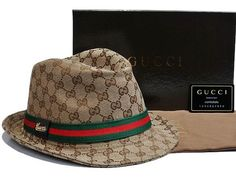 b25ba32295d Gucci Fedora with Gucci Trademark Detail Gucci Hat