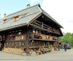 Schonwald, Schwarzwald: The Buhlhof for shopping