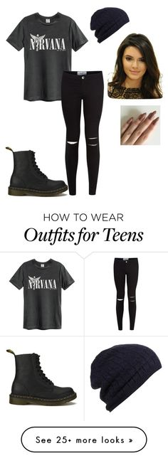 """""""me myself and I"""" by justinbieber-zaikara on Polyvore featuring New Look and Dr. Martens"""