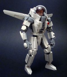 Daedalus Zero G Drop Suit by polywen, via Flickr