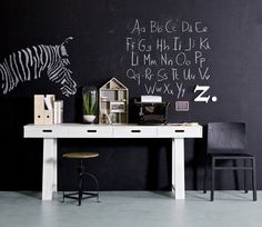 Pin from www. Kids Corner, Corner Desk, My Workspace, Baby Boy Rooms, Kid Spaces, Kidsroom, New Room, Interiores Design, Home And Living