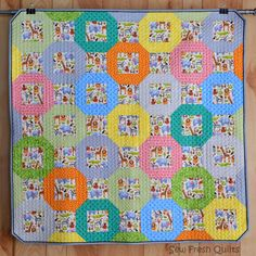 Sew Fresh Quilts: Fruity O's finish it up Friday!