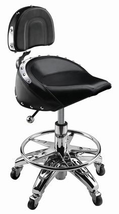 Harley Davidson Bar Chairs are perfect for a mancave or the mechanics garage. With or without backs, these are manly Harley Davidson Bar Chairs.