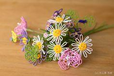 赤ずきん│和工房 包結 Chinese Flowers, Beaded Flowers, Decoration, Quilling, Ribbon, Knots, Blue Prints, Decor, Bedspreads