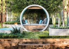 Alison Douglas recycled concrete pipes to create a dreamy urban oasis Pipe Dream by Alison Douglas – Inhabitat - Green Design, Innovation, Architecture, Green Building