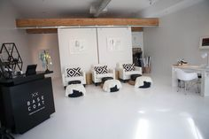 Base Coat Modern Nail Salon x Gallery  located in Denver, CO. #nailsaloninteriors #interiors Images by @Studio 9720
