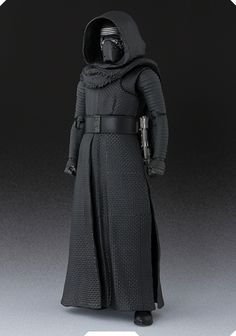 """Kylo Ren...great pic! only thing, based on the famous """"cross-guard"""" lightsaber scene from The Force Awakens FIRST trailer, his hilt was located on his right side."""