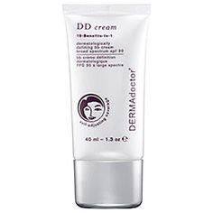 Dermadoctor - DD Cream 15-Benefits-In-1 Dermatologically Defining BB Cream Broad Spectrum SPF 30 in Self-Adjusting - light to medium beige with neutral undertones  #sephora