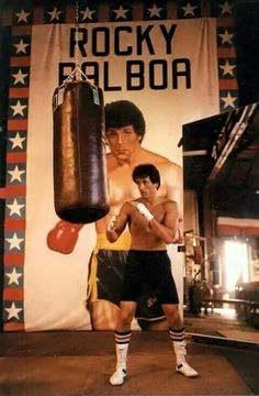 Sylvester Stallone as Rocky Balboa Rocky Balboa Poster, Rocky Balboa Movie, Rocky Balboa Quotes, Rocky Poster, Rocky Film, Rocky 3, Sylvester Stallone Wife, Movie Photo, Movie Tv
