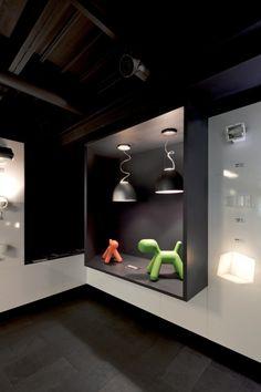 Interdesign: Showroom Iluminación