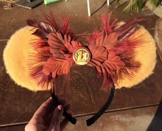 Lion King Themed Ears by MinniesEars on Etsy