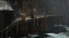 ArtStation - Fisherman's boy, Greg Rutkowski