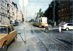 Good Old, Budapest, Transportation, Street View, Retro, Yesterday And Today, Hungary, Retro Illustration