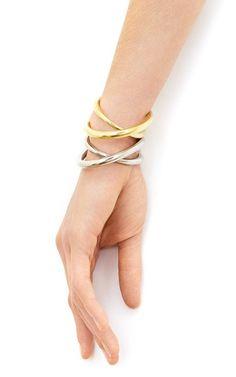 Initial Bracelet by Charlotte Chesnais for Preorder on Moda Operandi