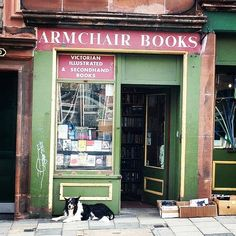 Armchair Books | 16 Dreamy Edinburgh Bookshops Every Book Lover Must Visit. I guess I'm just going to have to go back and visit all of these!