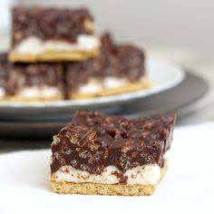 Peanut Butter Crunch S'mores Bars