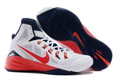 new concept 31015 5dc98 Mens Nike Hyperdunk 2014 USA White University Red-Obsidian Nike Shoes For  Sale,