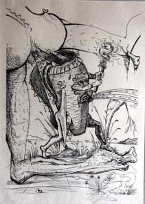 Salvador Dalí - Pantagruel 12