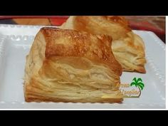 Puff pastry, also known as pâte feuilletée, is a flaky light pastry containing several layers of butter and dough .The gaps that form between dough layers ,l. Puff Pastry Dough, Puff Pastry Sheets, Puff Pastry Recipes, Serbian Recipes, Cake Recipes, Yummy Recipes, Coffee Cake, Favorite Recipes, Sweets