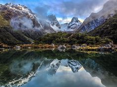 If you're looking for the best the Routeburn Track has to offer but only have one night to spend - hike from the Glenorchy side Routeburn Shelter to Lake Mackenzie in 12.5 miles (approx.