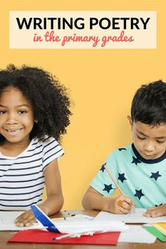 Wondering how to teach poetry in first or second grade? These poetry lessons and activities are perfect for primary students to begin writing poetry on their own. Students practice writing free verse as well as form poetry with a little guidance!