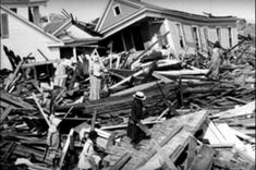 This Rare Footage In The 1900s Shows Texas Like You've Never Seen It Before 1900 Galveston Hurricane, Texas Hurricane, Hurricane History, Category 5 Hurricane, History Timeline, Survival Life, Wilderness Survival, Galveston Island, Galveston Texas