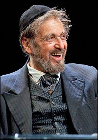 """The Merchant of Venice"" starring Al Pacino as Shylock (2011) on Broadway"