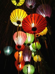 Chinese lanterns, Chinese lampionnen, Vietnamese lampionnen