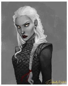 Manon Blackbeak by moonlit-sketches. Heir of Fire. Queen of Shadows. Empire of Storms. Sarah J Maas
