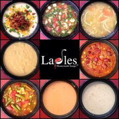 """Ladles Soups """"Hot Soup for Cool People"""" l Made from scratch soups, gourmet sandwiches and salads. Located at 1901 Croatan Hwy (the bypass) in Kill Devil Hills l www.CarolinaDesigns.com"""