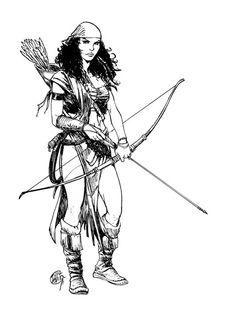 Thorgal - Kriss de Valnor. I love this character!