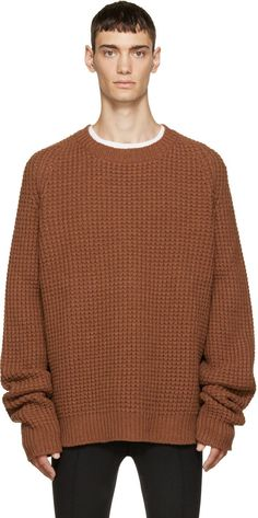 oversized knit sweater men - Google Search