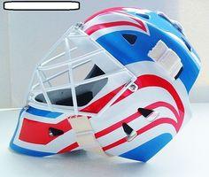 Ron Tugnutt Quebec Nordiques NHL Style Goalie Mask Helmet Masque Gardien | eBay