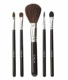 Cala Lily Makeup 5pcs Cosmetic Brush Kit (Small) 76521 + Aviva Nail Buffer by Cala. $15.99. 1 Aviva Nail Buffer. 5 Pcs Cala Lily Cosmetic Brush Kit (Small). The lot includes:. Cala Lily 5pcs Cosmetic Brush Kit: The Cala Cosmetic brush line offers exceptional quality and exquisite craftsmanship. They are designed for the professional who demands the best in quality and performance. The kit contains 1 x Eyebrow Brush; 1 x Eyeshadow Brush; 1 x Blush Brush; 1 x Lip Brush; 1 x Eyes...