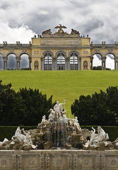 Schönbrunn Palace Garden ~ Vienna, Austria