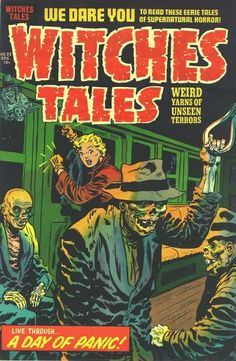 Cover for Witches Tales (Harvey, 1951 series) #22