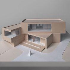 architecture model Paper model by ulyana_smek . Maquette Architecture, Architecture Model Making, Cultural Architecture, Education Architecture, Concept Architecture, Classical Architecture, Sustainable Architecture, Residential Architecture, Architecture Design
