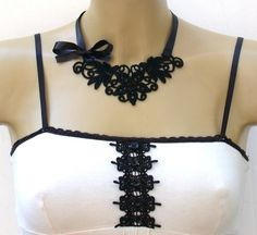Lace Necklace Idea