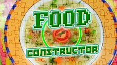 🍅 Food Constructor. Rice Soup 🍏 Let's cook with Funny Fru! 😃