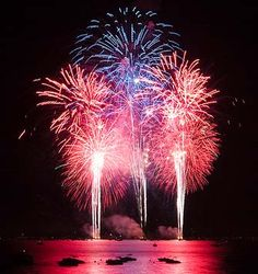 4th of July on Lake Bemidji........many wonderful memories watching the fireworks with my family from our pontoon on Lake Bemidji.