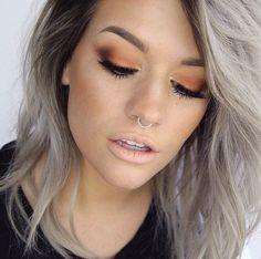 Copper/Orange eyelook